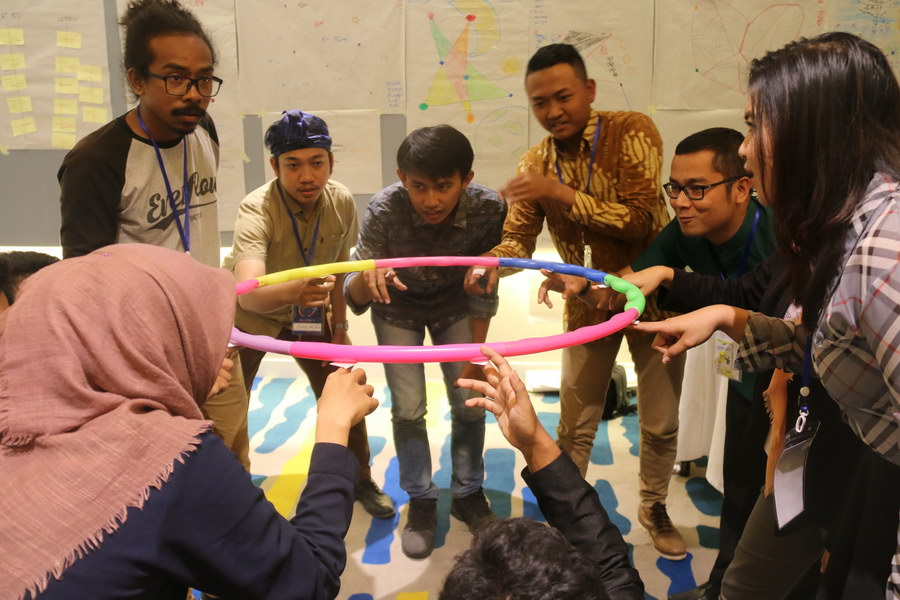 YSEALI (Young South East Asian Leader Initiatives) Camp Theory U 2017