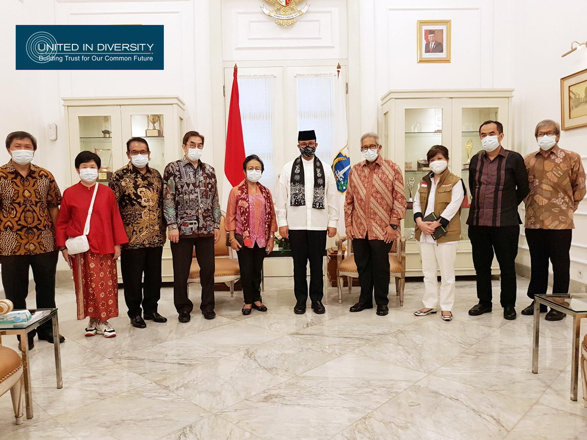Gajah Tunggal Group Submits 500 Thousand Masks to DKI Jakarta Provincial Government