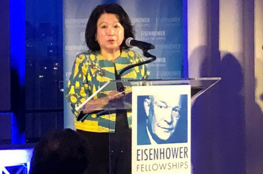 Eisenhower Fellowships will honor Dr. Mari Pangestu of Indonesia as the recipient of the 2018 Distinguished Fellow Award