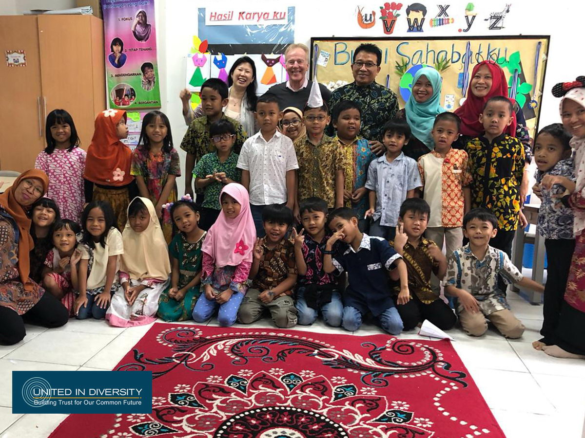 Dr. Peter Senge visited Indonesia Heritage Foundation (IHF)